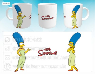 Caneca - Marge Simpson