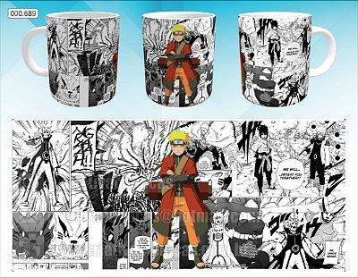 Caneca - Naruto, Mangá