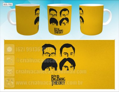 Caneca - The BigBang Theory