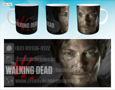 Caneca - The Walking Dead - Daryl