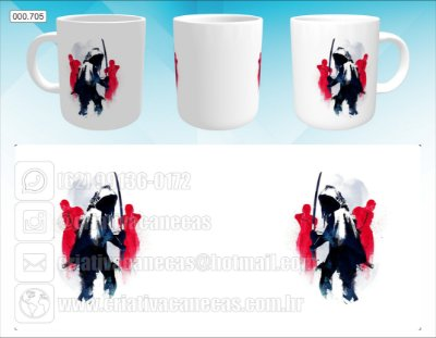Caneca - The Walking Dead - Michonne