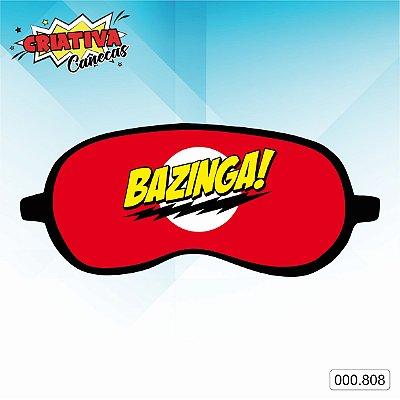 Máscara de dormir - Bazinga