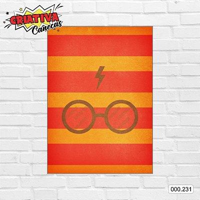 Placa decorativa - Harry Potter