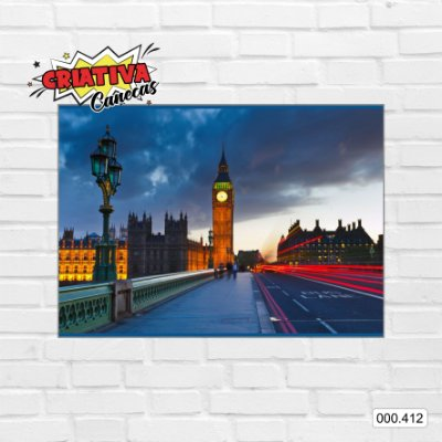 Placa decorativa - Big Ben