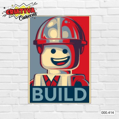 Placa decorativa - Build