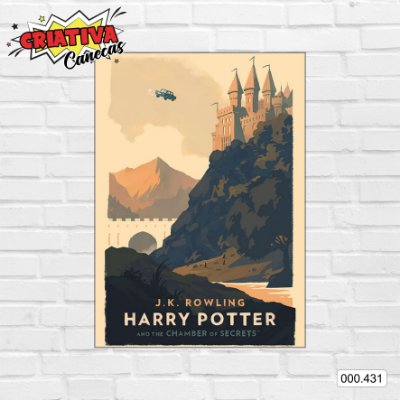 Placa decorativa - Harry Potter e a Câmara Secreta