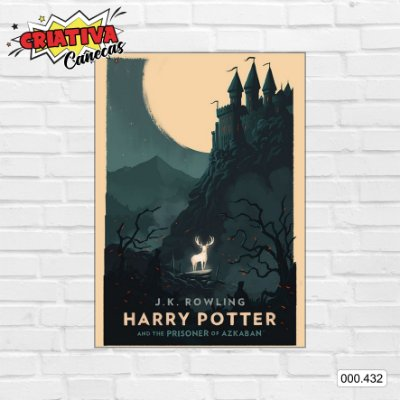 Placa decorativa - Harry Potter e o Prisioneiro de Azkaban