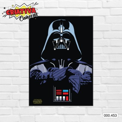 Placa decorativa - Star Wars - Darth Vader