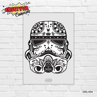 Placa decorativa - Star Wars - Stormtrooper