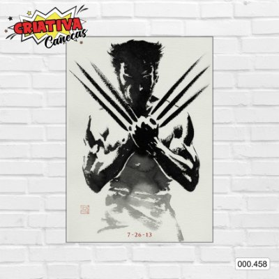 Placa decorativa - Wolverine