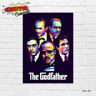 Placa decorativa - The Godfather