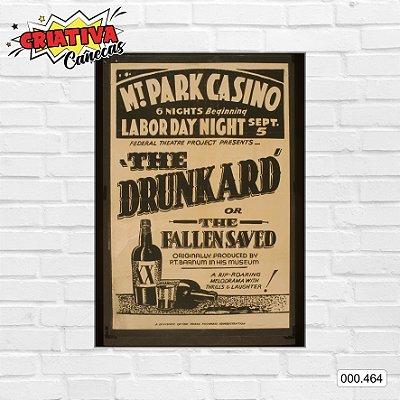 Placa decorativa - The Drunkard of The Fallen Saved, Mt. Park Casino