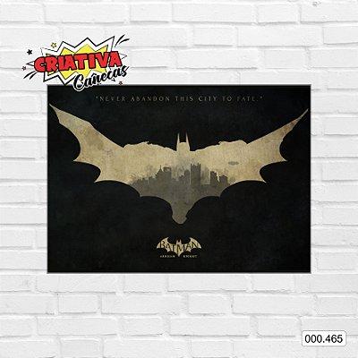 Placa decorativa - Batman - Arkham Knight