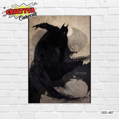 Placa decorativa - Batman - Detective