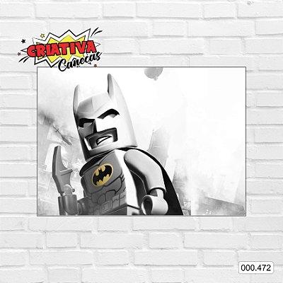 Placa decorativa - Batman, Lego
