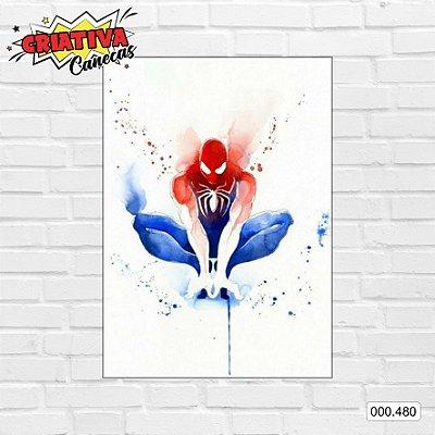 Placa decorativa - Homem-Aranha, Arte