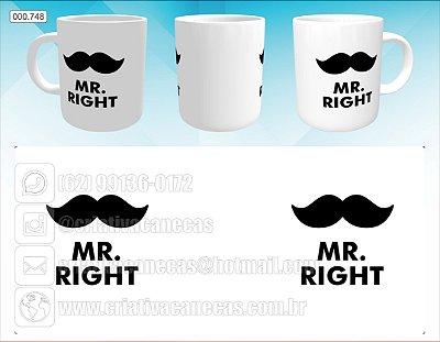 Caneca - Mr Right