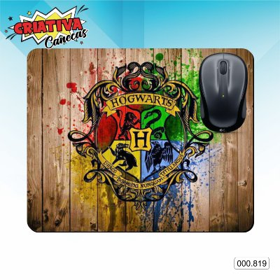 Mouse Pad - Herry Potter - Hogwarts