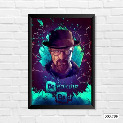 Quadro - Breaking Bad, Arte