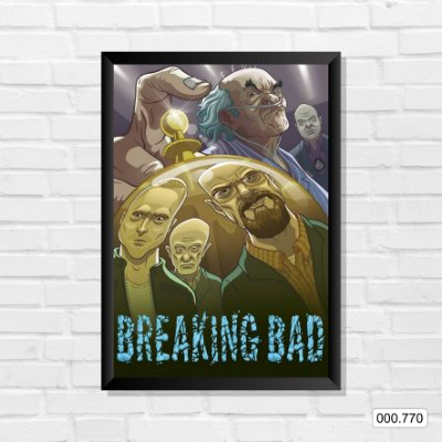 Quadro - Breaking Bad, Arte 2