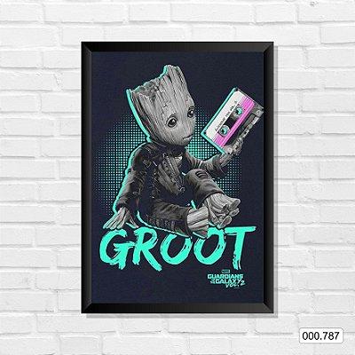 Quadro - Guardiões da Galáxia - Groot