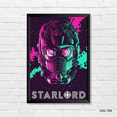 Quadro - Guardiões da Galáxia - StarLord 2