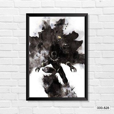 Quadro - Pantera Negra, Arte