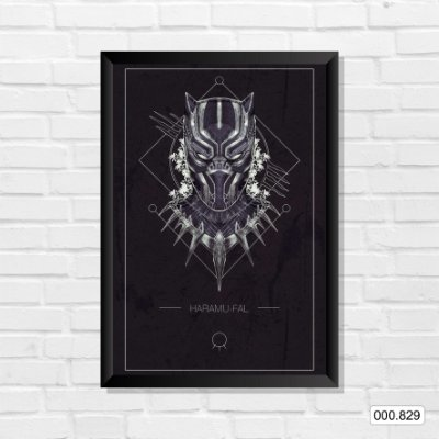 Quadro - Pantera Negra, Arte 2