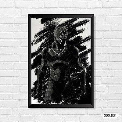 Quadro - Pantera Negra, Arte 4