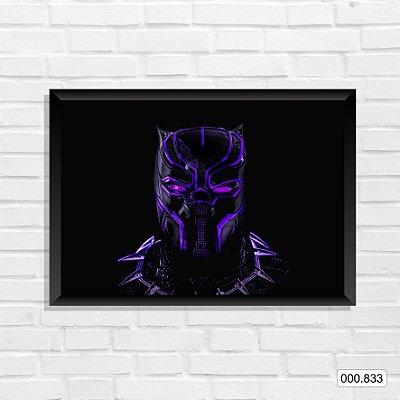 Quadro - Pantera Negra, Arte 6
