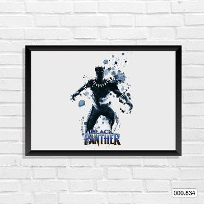 Quadro - Pantera Negra, Arte 7