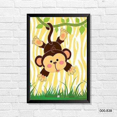 Quadro - Fazendinha Macaco