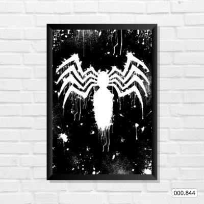 Quadro - Spiderman Black