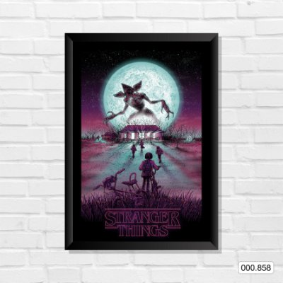 Quadro - Stranger Things, Arte 2