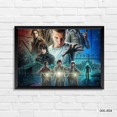 Quadro - Stranger Things, Arte 3