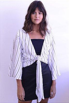 Blusa Cropped Listras