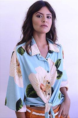 Camisa Panamá Maxi Flor