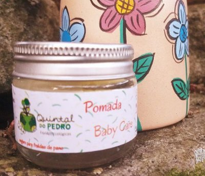 Pomada Baby Care anti assadura - Quintal do Pedro