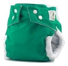 Fralda de Piscina Verde- Nós e o Davi Acompanha absorvente
