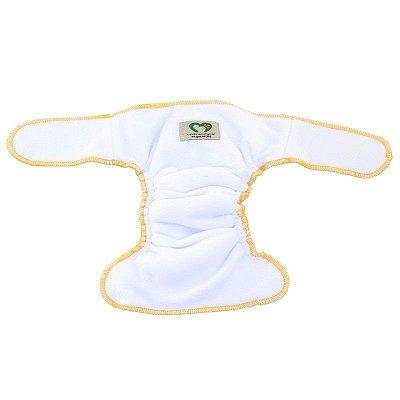 CONTORNO TAMANHO ÚNICO - Bebês Ecológicos - Amarelo