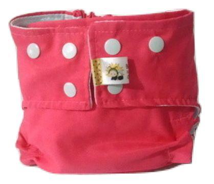 Fralda de Piscina Rosa - Belinha Baby Acompanha absorvente