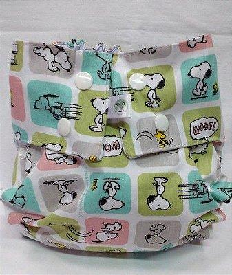 Snoopy Quadrados -  Nova Era Baby - Acompanha ABS melton