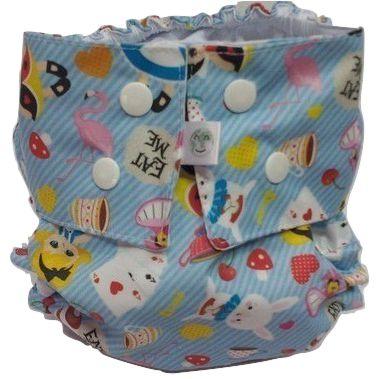 Alice azul - Nova Era Baby - Acompanha ABS melton