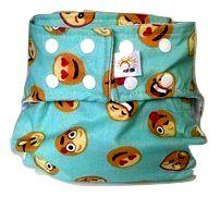Fralda Diurna Smiles- Belinha Baby Acompanha um absorvente em Moleton 4 camadas