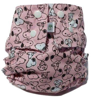 Snoopy Rosa- Nova Era Baby - Acompanha ABS melton