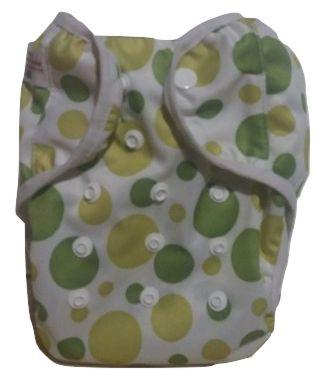 Capa bolas verdes -  Ateliê Mamãe e Bebê