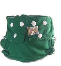 Fralda de Piscina Verde Bandeira Recém Nascido- Belinha Baby Acompanha absorvente