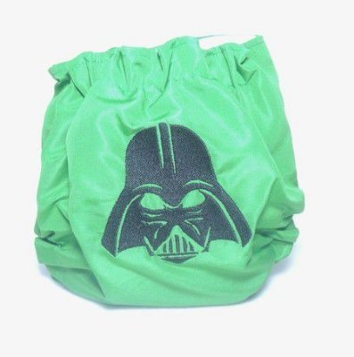 Darth Vader verde - Fraldas do Sul