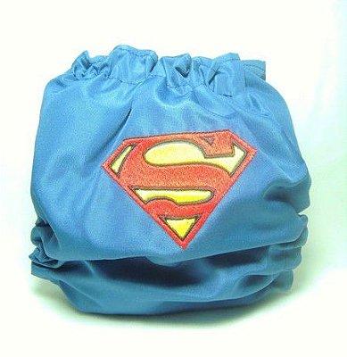 Super Homem- Fraldas do Sul