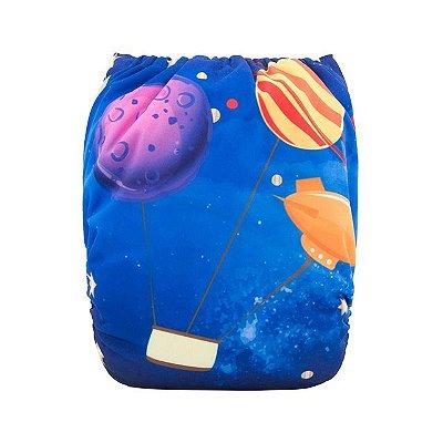 Fralda Balão Espacial - Alvababy - Acompanha absorvente